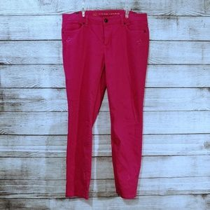 Hot Pink Skinny Jeans NWT 14